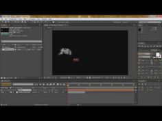 After Effects, Tutorial 2 - Smoke text reveal - YouTube