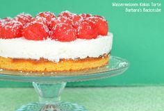 Barbara's Backstube: Wassermelonen Kokos Torte Raspberry, Cheesecake, Fruit, Desserts, Food, Watermelon, Dessert Ideas, Pies, Bakken