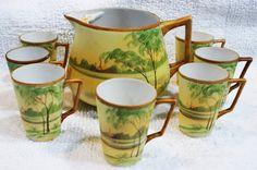 Hey, I found this really awesome Etsy listing at https://www.etsy.com/listing/179985020/nippon-china-lemonade-set