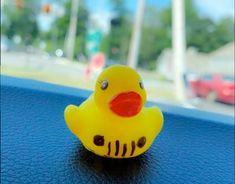 """Jeep Owners: Have you found a fun little surprise — a little rubber duck with a Jeep grill drawn in marker  -- in or on your Jeep yet? If so, then you """"got ducked""""! Ducking Jeeps"""" is the latest craze to hit the tight-knit Jeep community -- much like the Jeep Wave. The concept is simple: Jeep owners buy some mini rubber ducks, write some messages or drawings on them, and leave them on or in other Jeeps — just to make other Jeep owners smile! How cool is that?! #jeeps #jeepowners Jeep Wrangler Girl, Jeep Wrangler Unlimited, Jeep Tattoo, Adventure Jeep, 2014 Jeep Grand Cherokee, Jeep Grill, Jeep Wave, Hair Color Caramel, Jeepers Creepers"""
