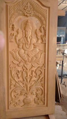 12 Fancy Wood Carving Designs In Chennai Photos - - Lilly is Love Door Design Images, Home Door Design, Pooja Room Door Design, Door Design Interior, House Main Door Design, Wooden Front Door Design, Double Door Design, Wood Front Doors, Wooden Doors