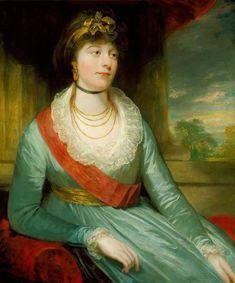 1800 Princess Charlotte Mathilde by William Beechey