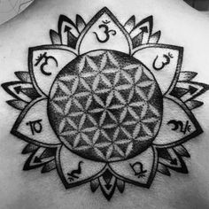 Flower of Life / Chakra Tattoo