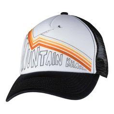 77960a5d7c6 Mountain Khakis Send It Trucker Cap - White Black Hats