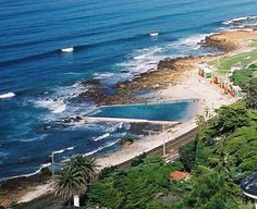 St James Beach tidal pool in Capetown, South Africa