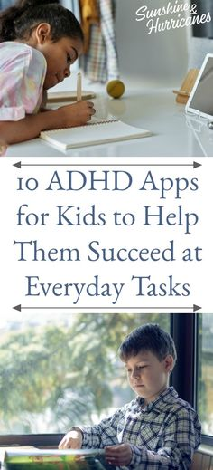 10 ADHD Apps for Kids to Help Them Succeed at Everyday Tasks #SpecialNeeds #ADHDHelp #helpForKids #Kids #ADHD