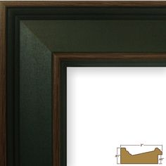 Craig Frames Inc Country Estate, Hardwood Picture Frame (62405), Country Blue