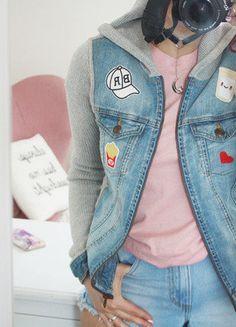 Kup mój przedmiot na #vintedpl http://www.vinted.pl/damska-odziez/bluzy/17667291-topshop-fajna-bluza-z-kapturem-naszywki