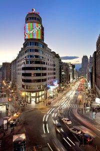 Edificio Capitol. Gran Vía, Madrid.