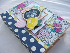 Chipboard Album Ocbrandy TPHH Premade Photo Scrapbook Happiest Days Crate Paper | eBay