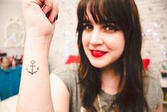 tatuagem ancora tattoo anchor