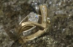 Midtown Diamonds - Reno's Source for Fine Jewelry, Diamonds, Custom Jewelry, and Engagement Rings Custom Jewelry, Heart Ring, Gold Rings, Fine Jewelry, Gems, Rose Gold, Posts, Engagement Rings, Crystals