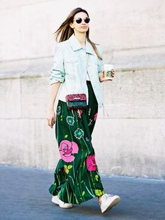 12 Non-Cheesy Floral Prints to Wear This Spring via @WhoWhatWear