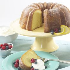 Mother's Day White Chocolate Lemoncello Cake with Fresh Berries and Mascarpone Cream | Nordic Ware
