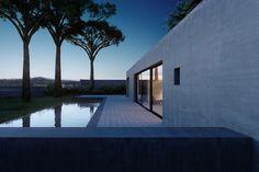 Minimalist Exterior in Cap d'Antibes, FR by Nicolas Schuybroek architects