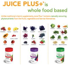 Flood your body with nutrients from 25 GMO-Free Fruits & Veggies EVERY DAY. Maryashley.juiceplus.com