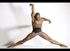 Desmond Richardson--my son Julian's mentor. He has danced with him for the last two summers. Someone called this eye candy!