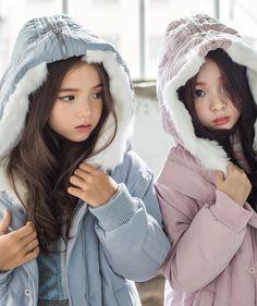 KKAMI Cute Asian Babies, Cute Twins, Korean Babies, Asian Kids, Cute Girls, Cute Babies, Twin Baby Girls, Ulzzang Kids, Cute Little Baby