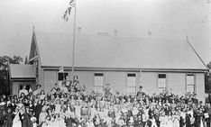 Australian People, Australian Flags, Property Rights, State School, Family Album, Big Family, Union Jack, Victoria Australia, Black And White