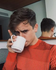 Connor and COFFEEEE! Sorry I just really want coffee
