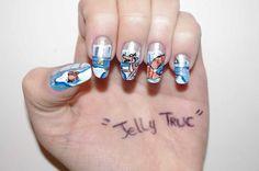 Nailartitudesdeclaire: Résultat du concours Jelly Truc Sandwich chez les débutants...