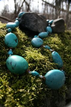TRU Expression Necklace~ ~Turquoise-protective, grounding, confidence