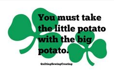 10 Wonderful Irish Sayings for every part of the Day | Quilting Sewing Creating
