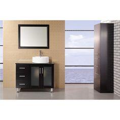 Design Element Malibu 36-in. Single Bathroom Vanity Set