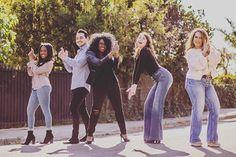 Sometimes you've got to have a little fun! #photoshoot #team #realtor #loosenup #goodtime #charliesangels #pose #werk #thelahomegirl