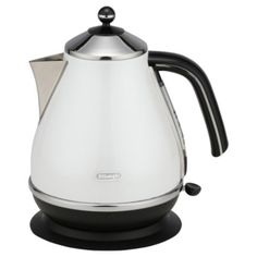 Check out DeLonghi Icona Kettle - White from Tesco direct Modern Country Kitchens, Home Kitchens, Stainless Steel Kettle, Open Plan Living, Home Furnishings, Kitchen Appliances, Kettles, Range