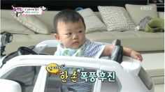 """Lee Dong Gook's son Daebak shows some amazing driving skills on the October 18 episode of """"The Return of Superman."""" In this episode, Lee Dong Gook is given a remote-controlled toy car which Daebak then takes on a test drive. Daebak is clearly excited, letting out high-pitched screa..."""