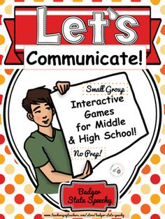Sometimes, we need interactive games for our social skills groups, beginning of the year groups or social activities that have a strong language arts emphasis.  This collection of ten interactive games for middle and high school students offers games and activities  that place an emphasis on communication, cooperation and getting to know each other!