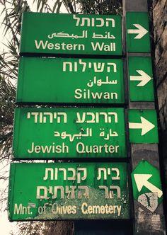 Only one old city,3religion,3language.. Jerusalem