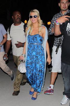 Paris Hilton  Coachella Valley Music and Arts Festival Day  04/16/11