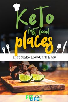 On the ketogenic diet but need to eat on the go? Here's a list of how to eat healthy and stick to the keto diet even when you eat at fast food places. Ketogenic Diet Results, Keto Results, Ketogenic Diet Meal Plan, Ketogenic Diet For Beginners, Keto Diet For Beginners, Keto Meal Plan, Keto Friendly Fast Food, Keto Fast Food, Keto Foods