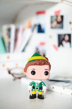 Funko Pop do personagem Buddy do filme Elf