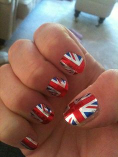 Nails. Flag. British