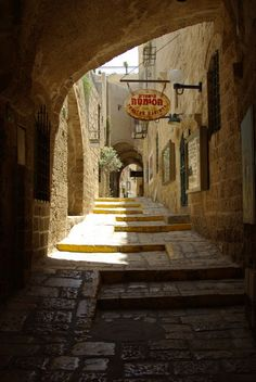 amazing paths around the world, Tel Aviv-Israel Beautiful Streets, Beautiful World, Beautiful Places, Jerusalem, Places To Travel, Places To See, Old Jaffa, Europe Street, Europe Beaches