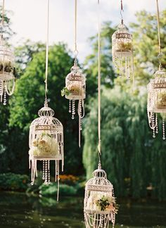 pearl and crystal wedding deco - Google 검색