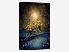 Yellow Autumn by Viviana Gonzalez 1-piece Canvas Artwork