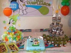 Decoración Fiesta Doki www.happy-occasions.com