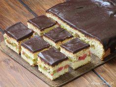 Rabarbarek Babci Stasi Pumpkin Cheesecake, Tiramisu, Waffles, Sandwiches, Nutella, Food And Drink, Cooking Recipes, Breakfast, Ethnic Recipes