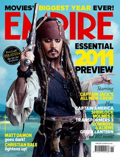 Image detail for -Sparrow covers the February 2011 issue of Empire magazine.Johnny Depp ...