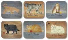 All Jason coasters are gift boxed and finished to the same high standard as the… Cat Coasters, Traditional Design, It Is Finished, Cats, Gift, Gatos, Kitty Cats, Cat, Kitty