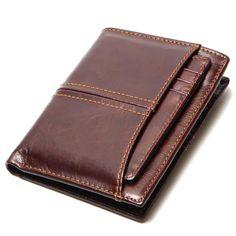 Cuir Véritable Key case wallet hommes femmes clés de voiture Support de Bague chaîne vintage Snap