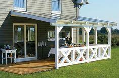Строительство террасы для дома - Полезные статьи - СК Домострой
