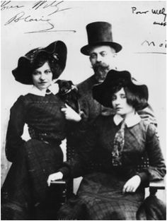 Photographic Print: Polaire, Colette and Willy : Vintage Photographs, Vintage Photos, Edwardian Costumes, Writers And Poets, People Of Interest, French Photographers, Belle Epoque, Fashion History, Historical Photos