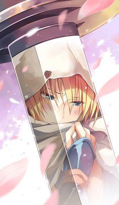Yamanbagiri Kunihiro from Touken Ranbu Anime Boys, Art Manga, Chica Anime Manga, Cute Anime Boy, Manga Boy, Anime Sexy, Touken Ranbu, Anime Sword, Desu Desu