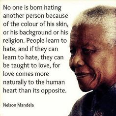 A very wise man that will be missed!  #mandela #love