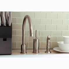 Alton Series FAL400SS Stainless Steel Single Lever Pull Out Kitchen Faucet  | Overstock.com | Kitchen | Pinterest | Kitchen Faucets, Faucet And Kitchens